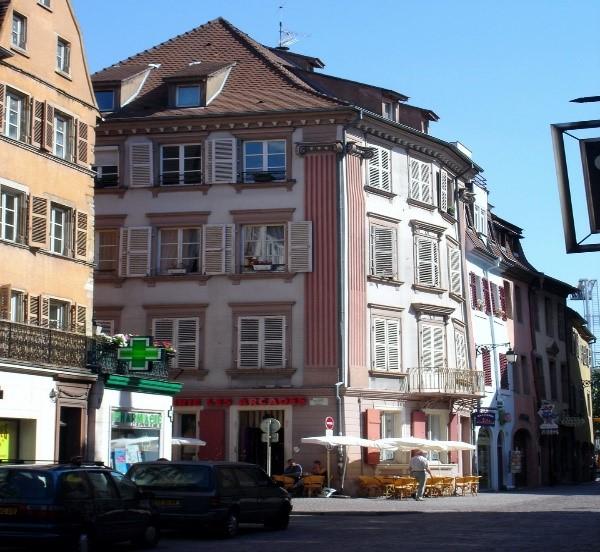 centre historique colmar